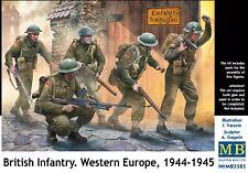 British Infantry. Western Europe, 1944-1945 (5 figures) 1/35 MasterBox 3585
