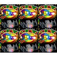 24Pc Flashing Mouth Piece Light Up Teeth LED Party Favors Rave Glow EDC Plur edm