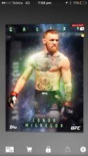 topps ufc knockout digital Conor McGregor Galaxy (100cc)