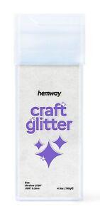 "Ultra Fine/ Extra Fine Craft Glitter Shaker 130g Hemway Wax Melts 1/128"" .008"""