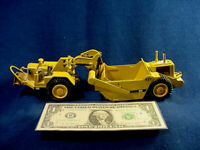 1980s WEST GERMANY NZG Push Pull CATERPILLAR CAT 627 Tractor Scraper 1:50