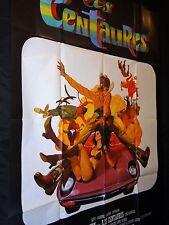 LES CENTAURES  the honkers  ! james coburn  affiche cinema cars porshe 1976