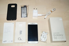Samsung Galaxy S6 Edge- 32GB - Weiß (Ohne Simlock) OVP + neue Batterie