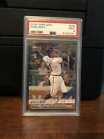 2018 Topps Now Ozzie Albies Braves Rookie Card #446 PSA 9 Mint