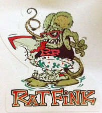 RAT ROD HOT ROD CHOPPER RAT FINK   DECAL STICKER