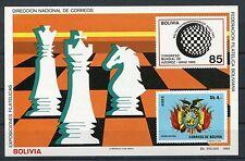 Bolivien Block 147 postfrisch / Schach ....................................1/315