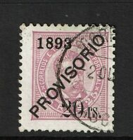 Portugal SC# 91, Used, very shallow, small side/margin thin, see notes - S7799