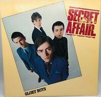 Glory Boys Secret Affair LP Vinyl Nice EX Cover EX 1980 Sire SRK 6089 Lyric