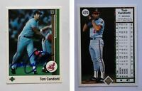 Tom Candiotti Signed 1989 Upper Deck #470 Card Cleveland Indians Auto Autograph