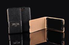 Samsung Galaxy S7 Edge Handytasche Schutz hülle Case Flip Cover echt Leder
