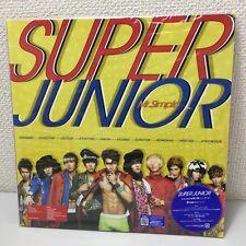 SUPER JUNIOR Mr. Simple CD+DVD K-POP NEW LP-SIZE Made in japan