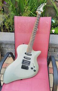 Grey Shark Blob Guitar