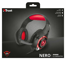TRUST 21601 GXT 313 NERO HEADSET FOLDING MIC, IN-LINE REMOTE WITH VOLUME & MUTE