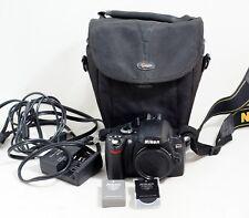 Nikon D40 Digital SLR Camera Body Only LOW SHUTTER COUNT DSLR