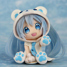 PVC Figure Toy Doll Animation Vocaloid Hatsune Miku Polar Bear Decor Kids Gift