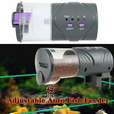 Adjustable Automatic Aquarium Timer Auto Fish Tank Pond Food Feeder Feeding Good