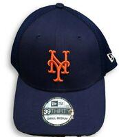 NWT New York Mets New Era 39Thirty Meshback Logo Flex-Fit Size S/M Hat