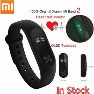 XIAOMI MI 2 SMART WATCH AND HEART RATE MONITOR - BLACK - NEW SEALED