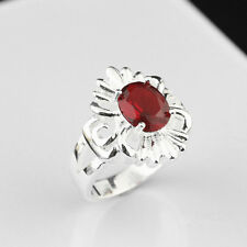Wholesale 925 Sterling Silver Plated NEW Women Fashion zircon Ring SIZE 8 JZ550