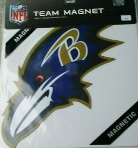 Baltimore Ravens * LEFT FACING * 12 INCH MAGNET ! FREE SHIPPING ! FAST SHIPPING