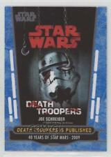 2017 Topps Star Wars 40th Anniversary Blue #93 Death Troopers is Published 1h5