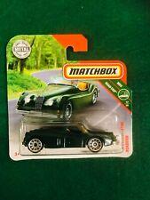 MATCHBOX 1956 '56 JAGUAR XK 140 ROADSTER BRITISH RACING GREEN MINT ON CARD 17/20