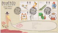 TALLENTS PMK GB ROYAL MAIL FDC FIRST DAY COVER 2006 ANIMAL TALES SET