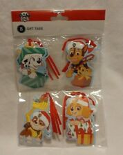 American Greetings Nickelodeon Paw Patrol Holiday Christmas Gift Tags 8 Count