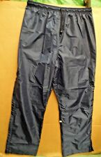 GEN. BRITISH TRI-SERVICES PTI WATERPROOF/WINDPROOF NAVY MICRO LITE MK1 TROUSERS