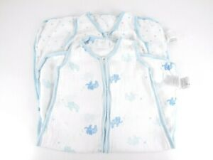Aden + Anais Sleep Sack Lot of 2 Size M 6-12 Months Wearable Muslin Blanket