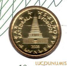 Slovénie 2008 - 10 Centimes d'Euro 148000 exemplaires Provenant du coffret BU RA