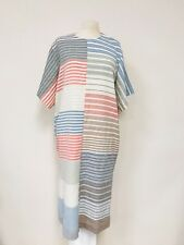 PAUL SMITH Multi Striped Multi Colored Tunic Shirt Dress, UK 44