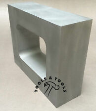 "ALUMINUM MOLD FRAME SINGLE CAVITY VULCANIZER RUBBER SIZE 3-3/8"" x 4-3/8"" CASTING"