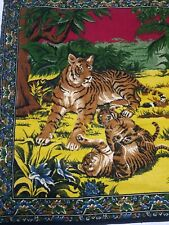 WALL HANGINGS TAPESTRY TIGER'S