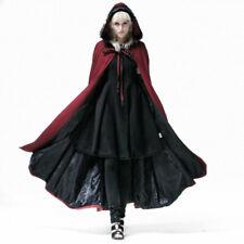Gothic Punk rave Jacke lang Bluse viktorianisch Sommermantel Coat schwarz Black
