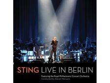 Live in Berlin [Audio CD] Sting - AKZEPTABEL