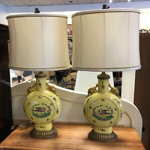 Chinese Tea Caddy Table Lamps