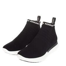 RRP €635 SALVATORE FERRAGAMO CAPRERA Knitted Sneakers EU37 UK4 US6.5 Sock Like