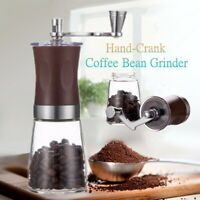 Manual Hand-Crank Coffee Bean Spice Nut Seeds Hand Stainless Steel Grinder