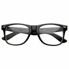 Fashion Retro Unisex Men Women Clear Lens Vintage Nerd Geek Glasses Eyewear Usa