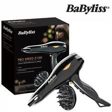 BaByliss 5541U Pro Speed Hair Dryer 2100W Ionic 3-Heat & 2-Speed Settings