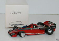 WESTERN MODELS SIGNED 1st VERSION - 1/43 SCALE - WRK14 1978 PARMALAT BRABHAM