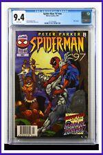Spider-Man '97 #nn CGC Graded 9.4 Marvel 1997 Newsstand Edition Comic Book.