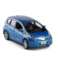 1:36 Scale Honda Jazz Model Car Diecast Toy Vehicle Pull Back Kids Gift Blue