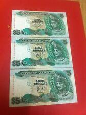 RM5 Cross w/o Silver Thread 6th series - 3 pcs running nos NG3185914-16 (UNC) #7