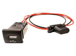 Land Rover Defender 2002 On In Dash Switch USB Socket Charge Port - DA6674