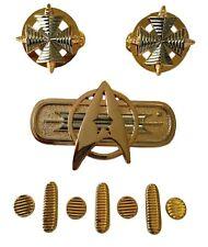 Star Trek Original Movie Uniform Admiral Rank Pin Set of 10
