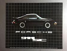 1986 Porsche 911 SC Coupe Collector Card, Postcard  RARE!! Awesome L@@K