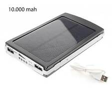 CARGADOR DE BATERIAS SOLAR POWER BANK 10.000 mAh MOVIL TABLET