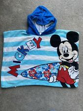 Disney Mickey mouse Hooded Towel Boys Beach Swimming Surf Poncho